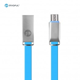 Pivoful Charging Data Sync Cable, 3ft Durable Cables For iPhone Android - Micro USB cable (BLUE - 5pin for Android)