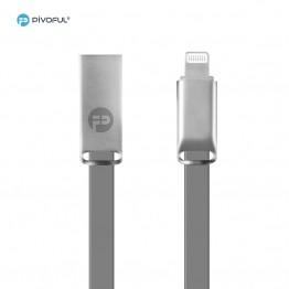 Pivoful Charging Data Sync Cable, 3ft Durable Cables For iPhone Android - Micro USB cable (GRAY - 8pin for iPhone)